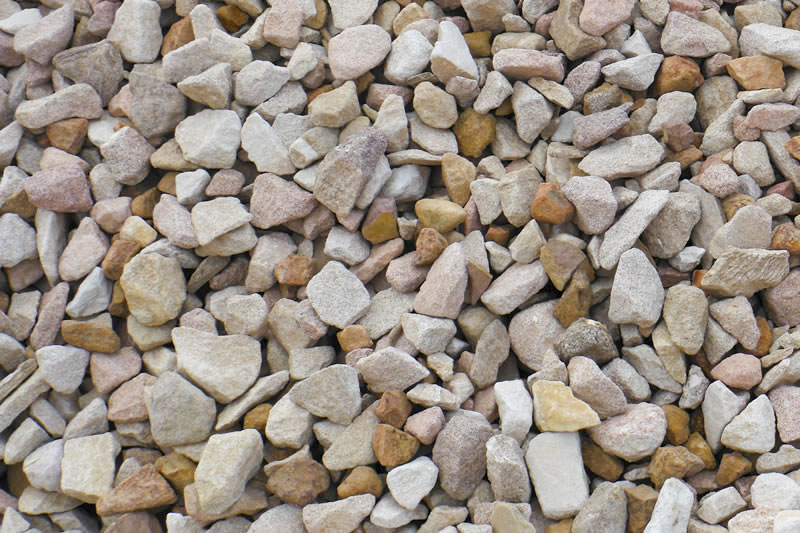 Crushed Rock Sizes : Oz pebble tumbled or natural pebbles crushed stone